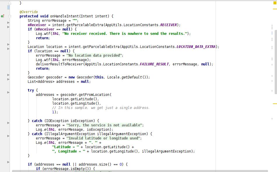 Android Geocode 2