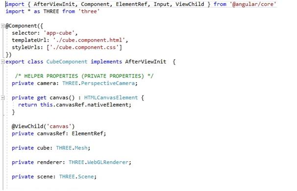 ThreeJS scene in Angular_3