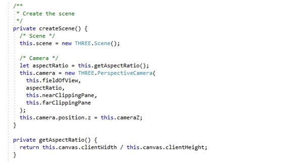 ThreeJS scene in Angular_7