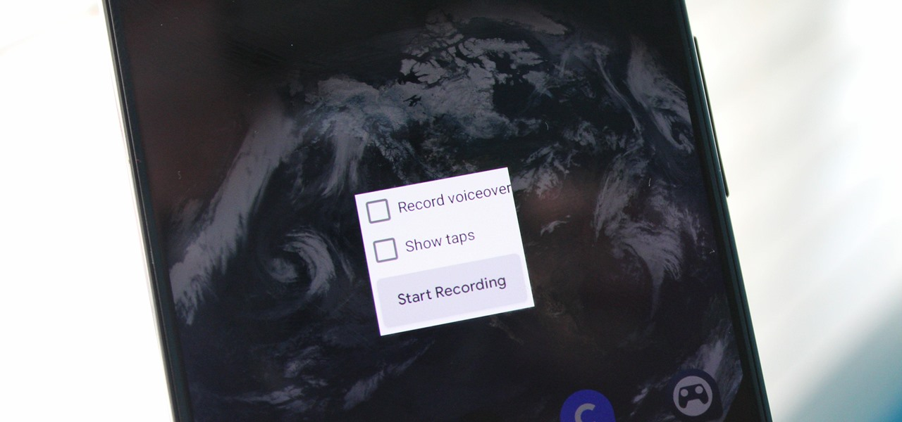 android q screen recording