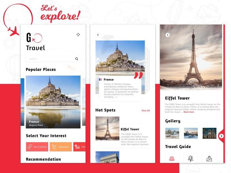 App as a Tour Guide