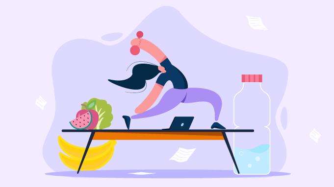 Wellness Application with Virtual Training
