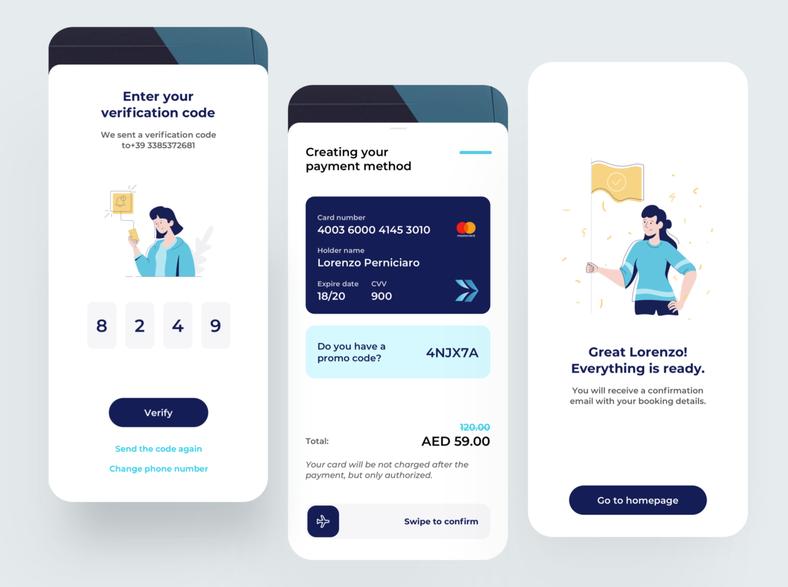 Travel Payment App