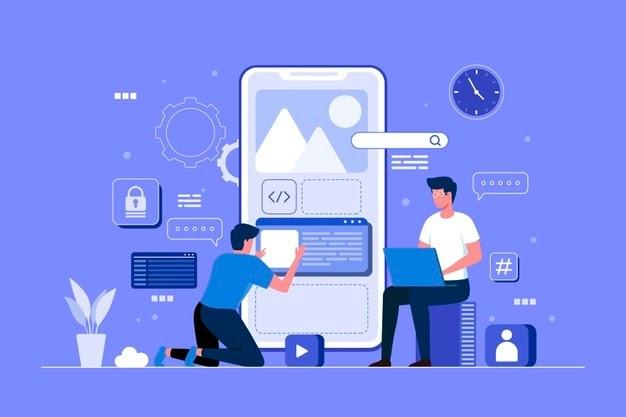 app-development-illustration